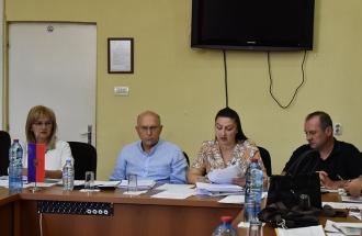 Работна средба на Коцевски со директорите на општинските училишта