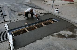 "Градежни работи на улица ""Љубљанска"""